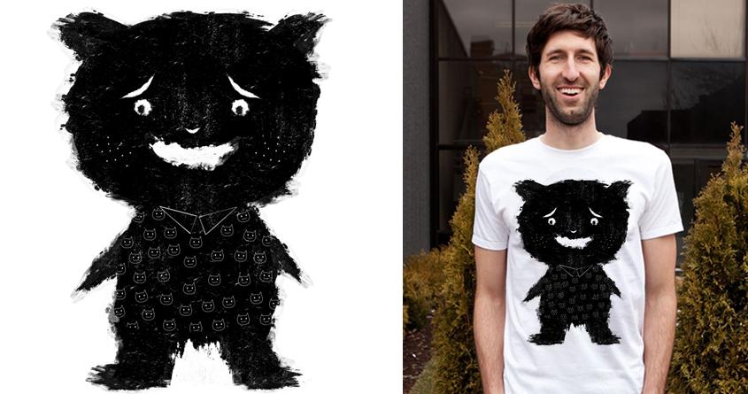 Monster Loves Cat by dandingeroz on Threadless