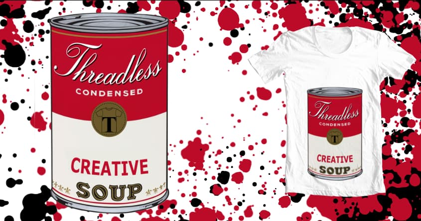 Creative Soup by beboproject on Threadless