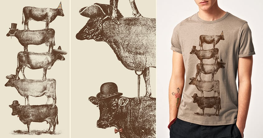 Cow Cow Nuts by speakerine on Threadless
