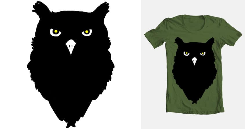 Owl by hawko92 on Threadless