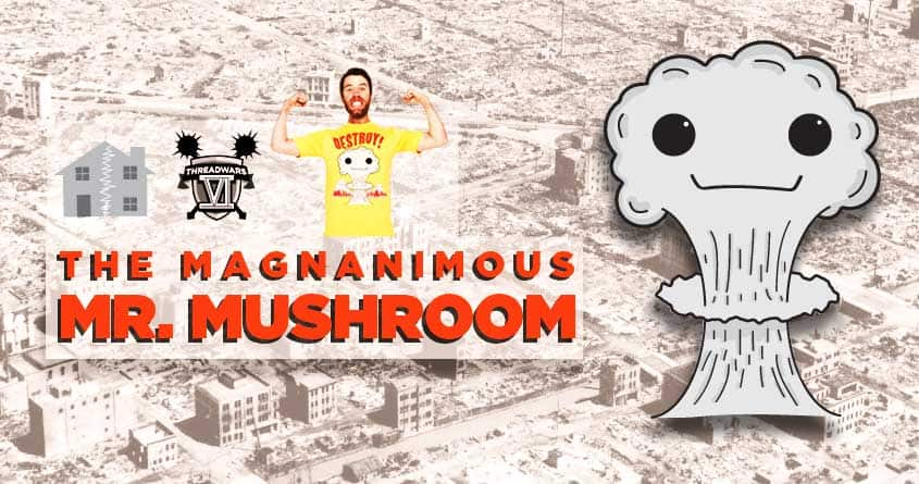 The Magnanimous Mr. Mushroom by craquehaus on Threadless