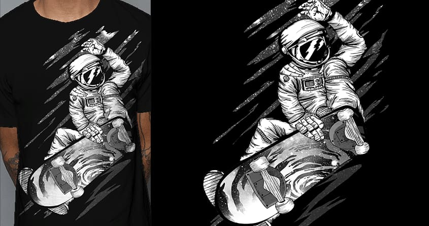 This is Spaceboarding! by shesmatilda on Threadless