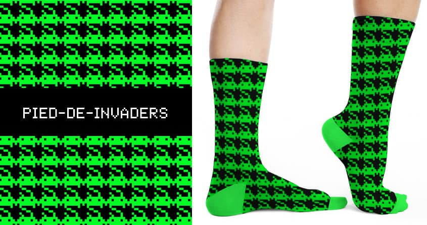 PIED DE INVADERS by Betti G. on Threadless