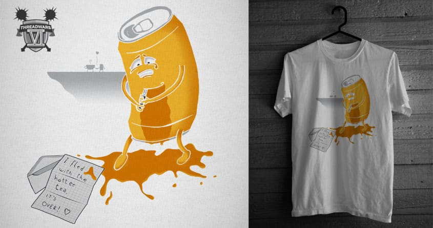 Tea-r me up by veciocoldobro on Threadless