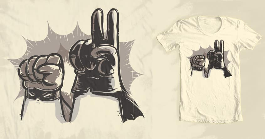 Ready To Fight by Gums. on Threadless