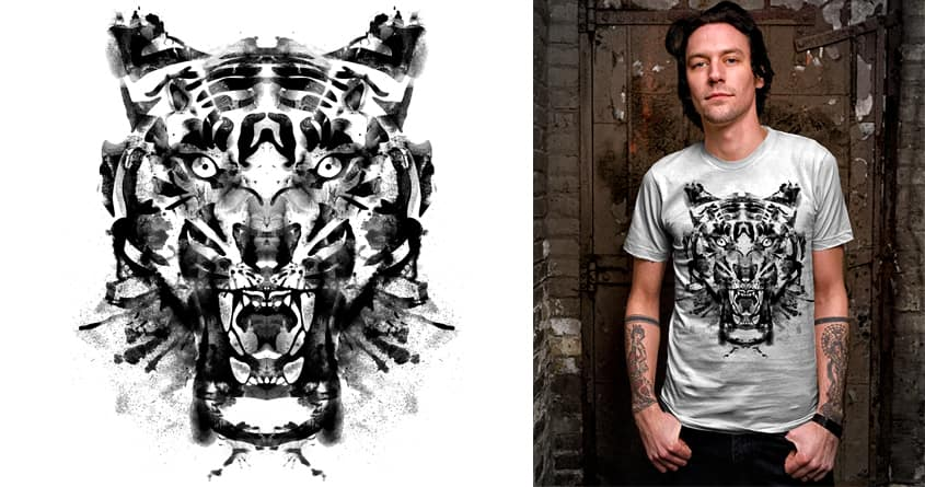 Roarschach by kooky love on Threadless