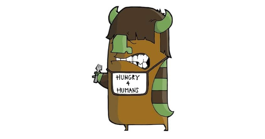 Hungry 4 Humans by jnharvey44 on Threadless