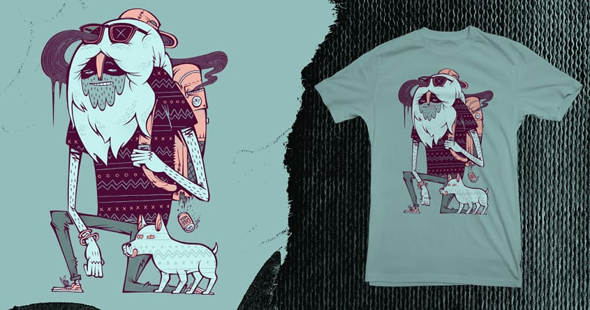 Abominable Broham by citizen rifferson on Threadless