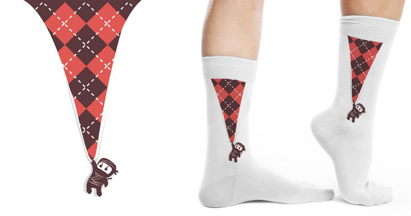 Socks Ninja by radiomode on Threadless