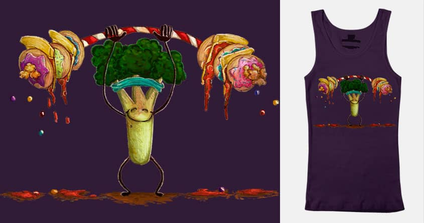 Can't be weighed down by christisocool on Threadless