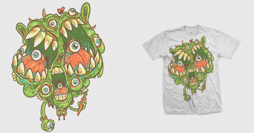 Carrots are good for you by Demented on Threadless
