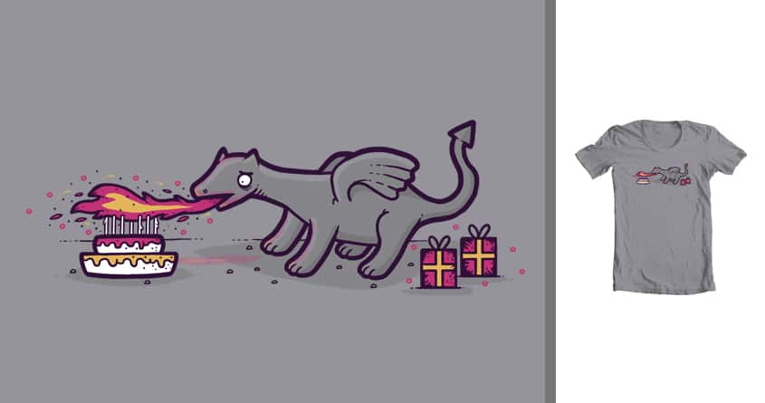 Dragon's Birthday by randyotter3000 on Threadless