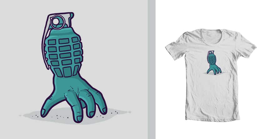 Hand grenade by randyotter3000 on Threadless
