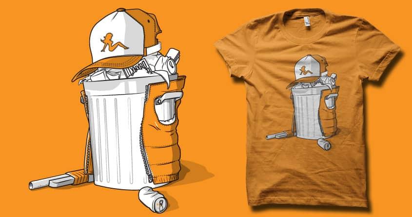 white Trash by biotwist and fightstacy on Threadless