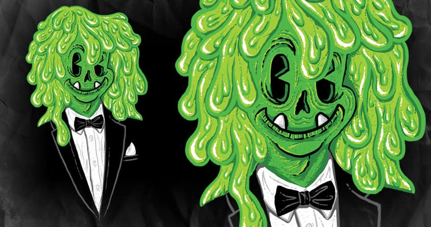 Sophisticated Slimehead by WanderingBert on Threadless