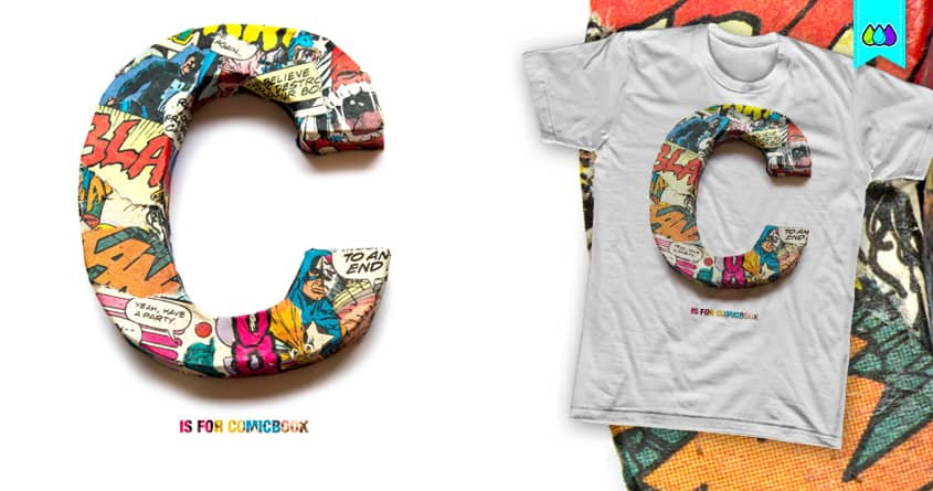 C is for comicbook by S-3 on Threadless
