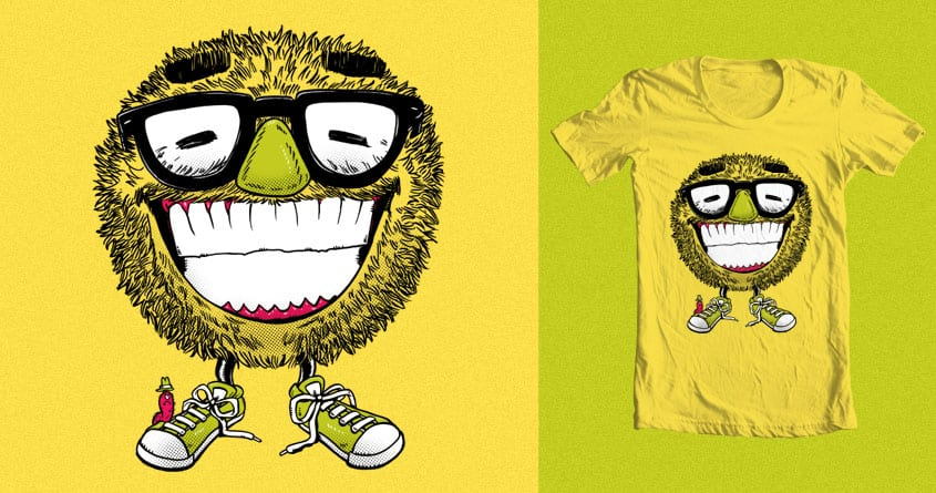 Mr Grin by nickv47 on Threadless