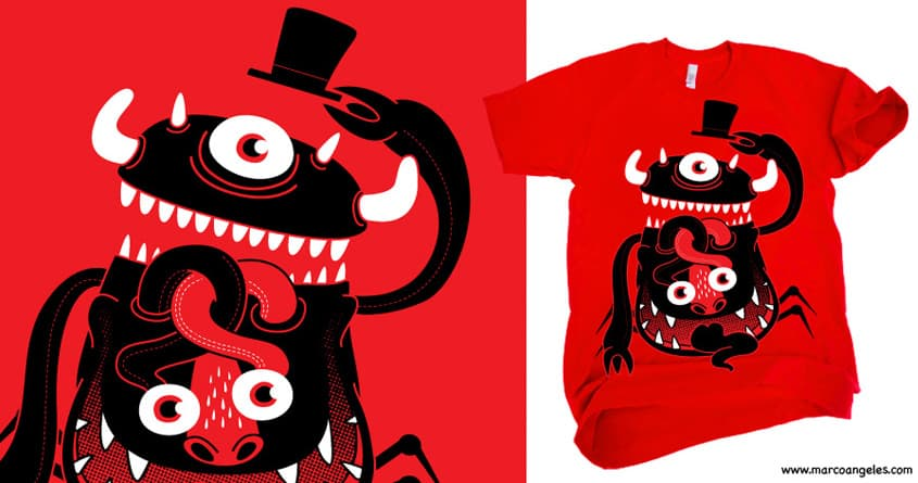 Mister Monster by ivejustquitsmoking on Threadless
