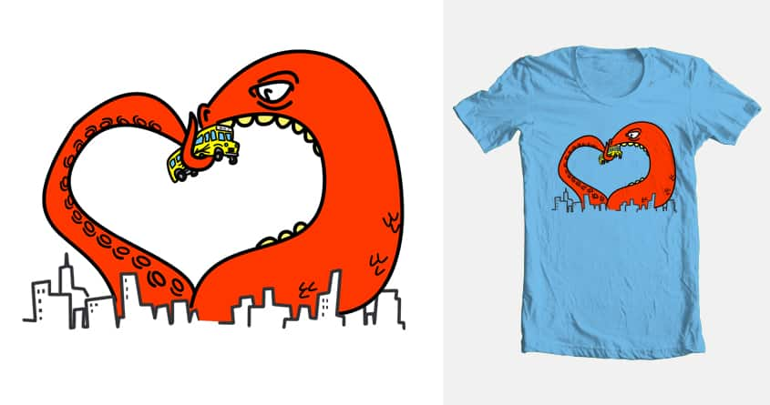 Monster Love by mutsu on Threadless