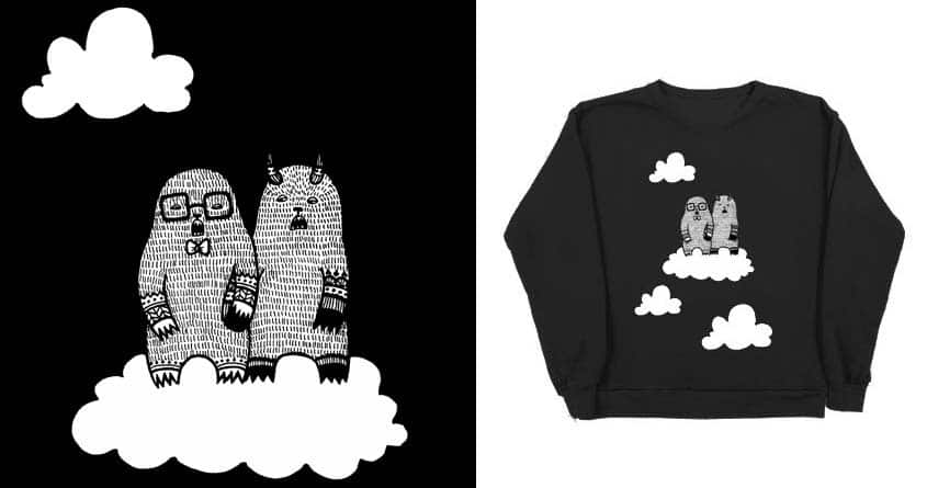 Walking On Clouds by The Clothes Horse and jstutzfilmmaker on Threadless