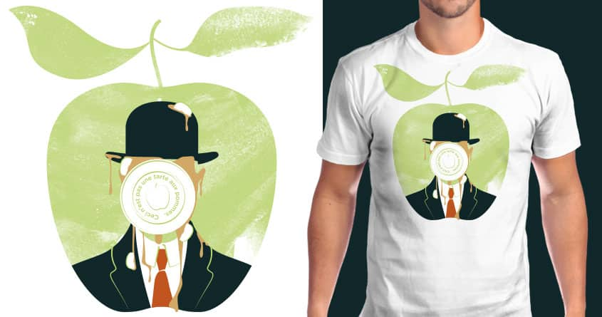 This is not an apple pie in the face. by rodrigomuller on Threadless