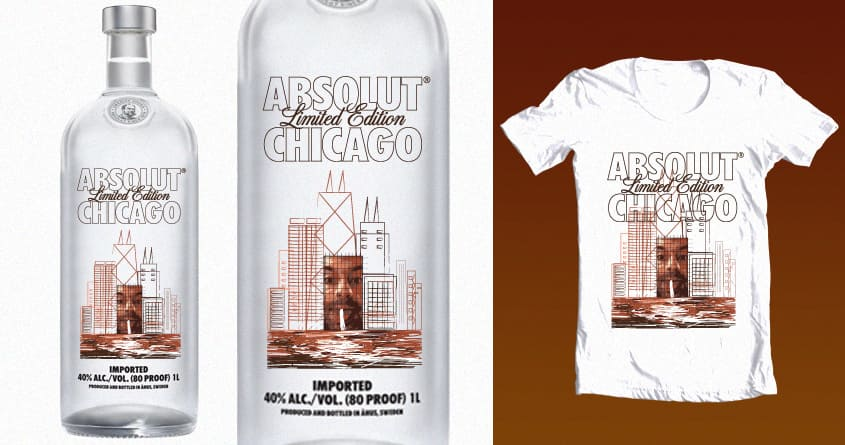 Chicago me by vlad.s on Threadless