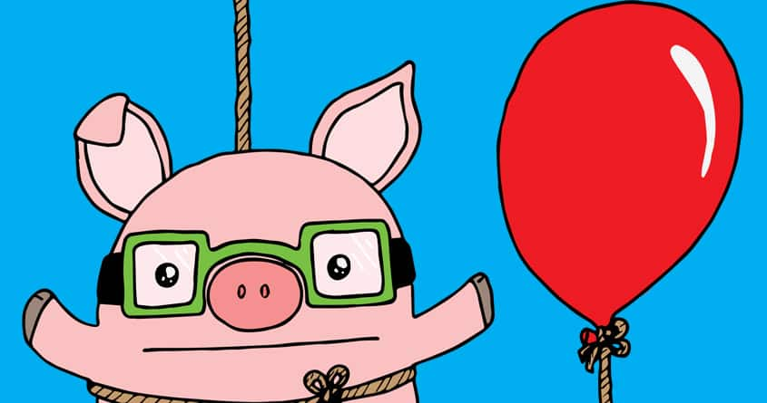 Pigs Can Fly! by Kartoonkid91 on Threadless