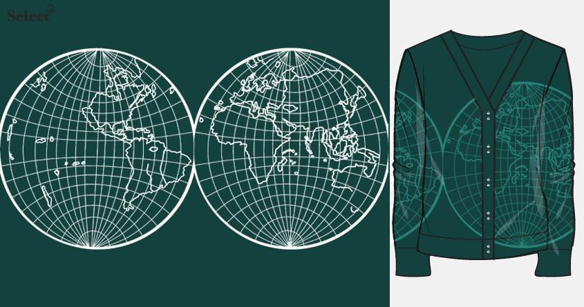 World Map by amaara on Threadless