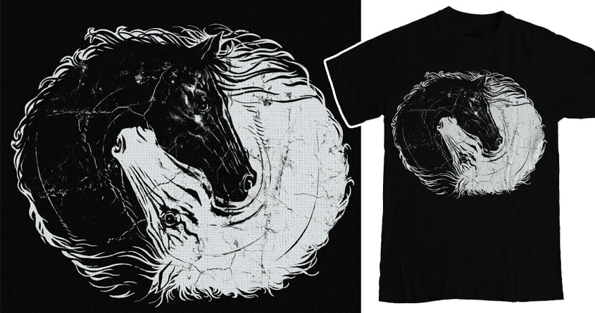Chiaroscuro by RicoMambo on Threadless