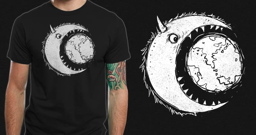 MoonSter by barmalisiRTB on Threadless