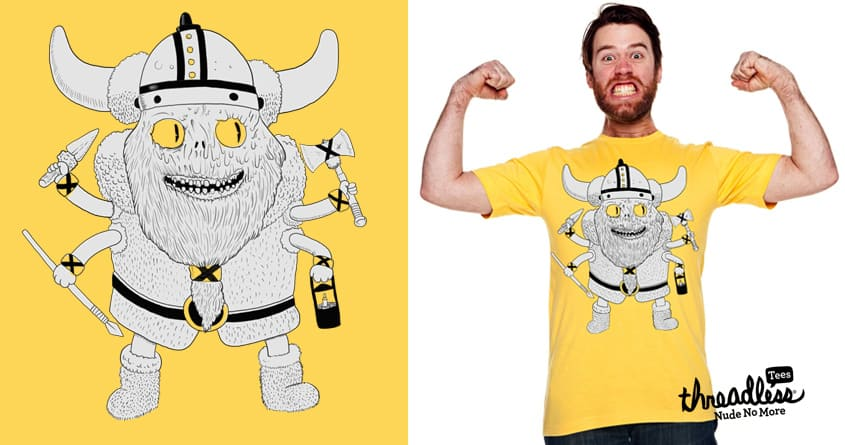 Viking Monster by ppmid on Threadless