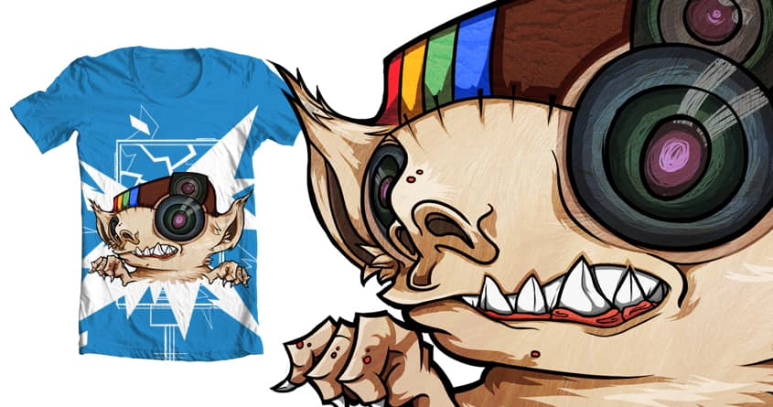 Social Media Monster #2 by airdeh on Threadless