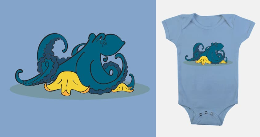 Under The Sea With Me by kelanne21 on Threadless