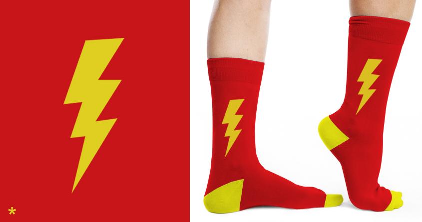 Flash feet by Leo Canham on Threadless