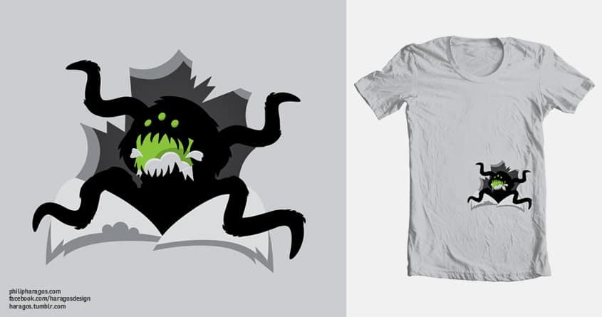 Tee Eater by Haragos on Threadless