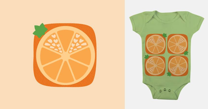Love Orange by Carman Petite on Threadless