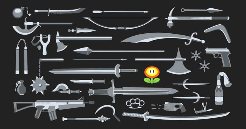 Choose Your Weapon by davidfromdallas on Threadless