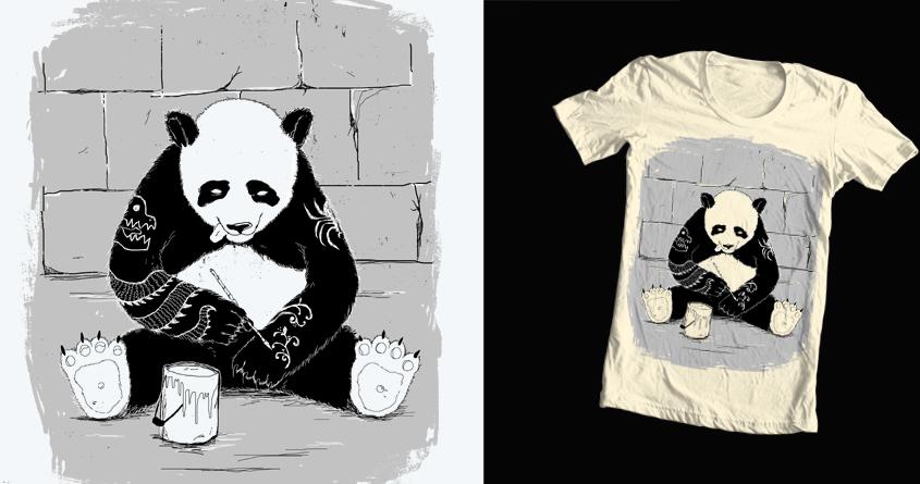 Panda Style by JanPious on Threadless