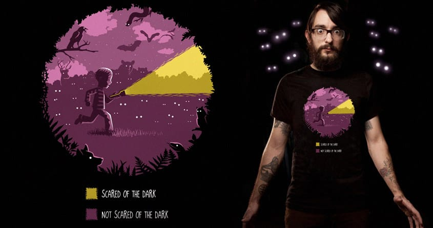 Scared of the Dark by Graja on Threadless