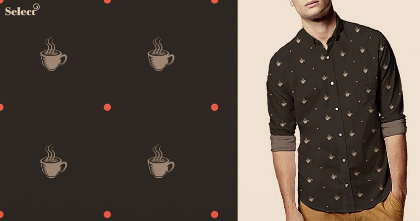 fall in coffee by fikri on Threadless