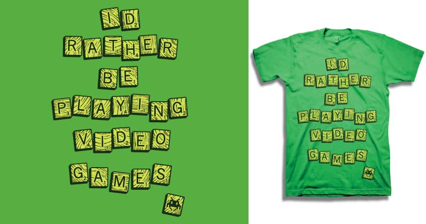 Bored Games by LSMcMahon on Threadless