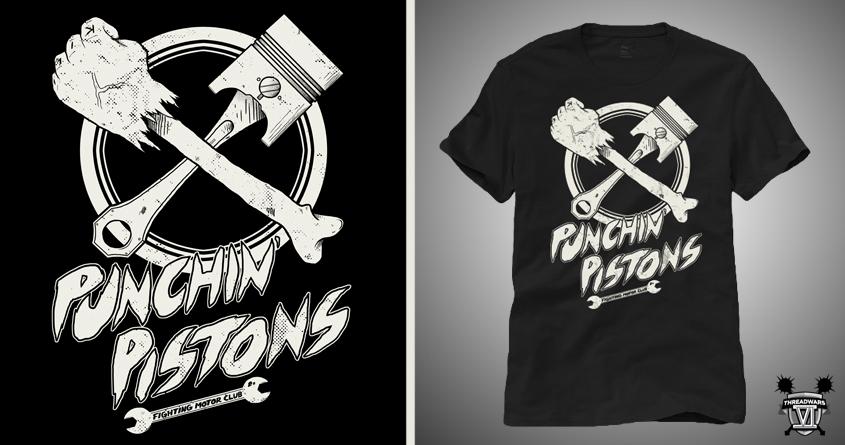 Punchin' Pistons by micheleficeli on Threadless