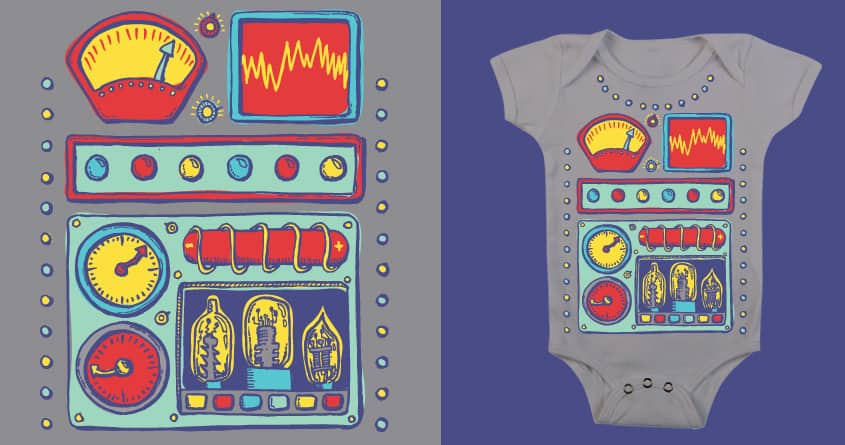 Babybot 3000 by jcastillo81 on Threadless