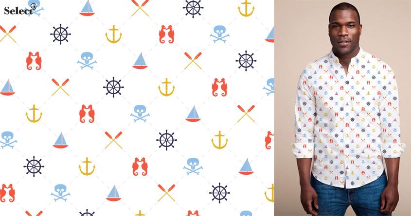 Shirt Ahoy by Wharton on Threadless