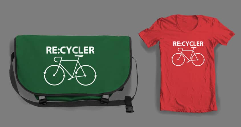 Re:Cycler by macdoodle on Threadless