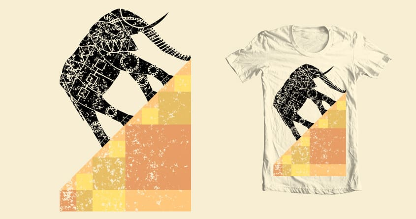 Geophant by ScorpionTree on Threadless