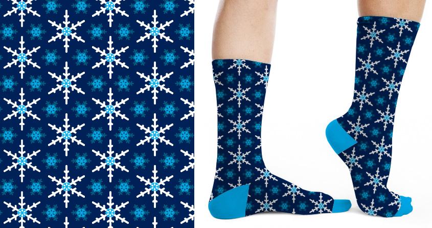 Snowflake Pattern by SteveOramA on Threadless