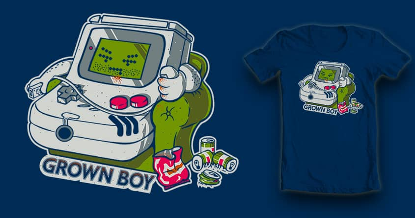 Grown Boy by kevlar51 and CoD Designs on Threadless