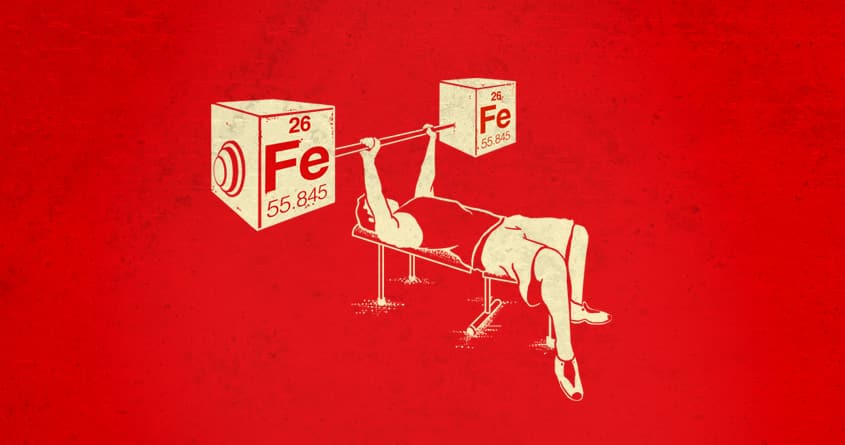 Pumping Iron by RonanL on Threadless