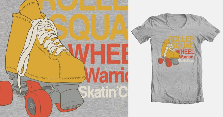 Roller Squad by LL Cool G on Threadless